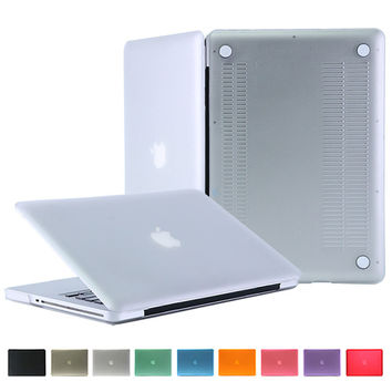 NEW Matte Case For Apple macbook Pro 13 no retina laptop cover+keyboard protector For Mac book 13.3 inch without logo