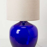 Anthropologie - Found Decanter Lamp