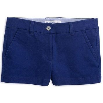 """3"""" Leah Short in Yacht Blue by Southern Tide"""