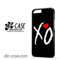 The Weeknd Xo Love DEAL-11131 Apple Phonecase Cover For Iphone 6 / 6S