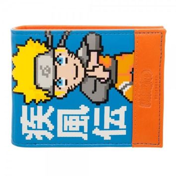Naruto Shippuden Bi-Fold Wallet Anime Officially Licensed