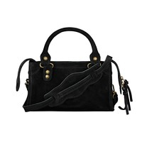 CITY BAG MINI SUEDE BLACK