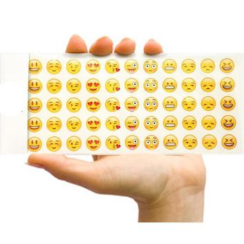12 Sheets Emoji Sticker For Sticky Notes or Memo Pad