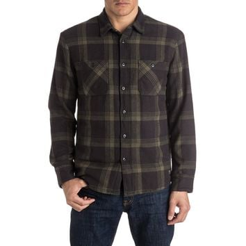 Metal Layer Male Long Sleeve Shirt, Flannel (Size M)