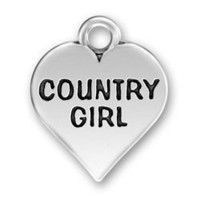 Country Girl Charm [Jewelry]
