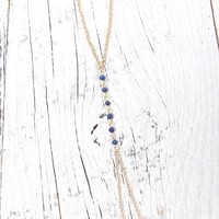 Ettika - PacSun Friendship Anklet - Womens Jewelry - Blue - One