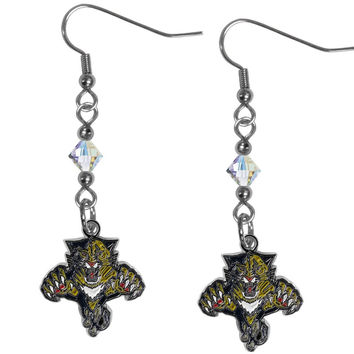 Florida Panthers® Crystal Dangle Earrings HCE95