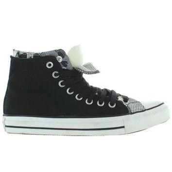 CREYUG7 Converse All-Star Chuck Taylor 2X Upper Hi - Black/White Canvas Double Upper High Top