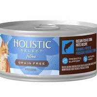 Holistic Select Ocean Fish & Tuna Canned Cat Food 24/5.5 oz