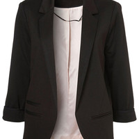 Slim Blazer In Black