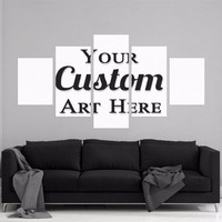 5-Panel Customer Canvas Wall Art
