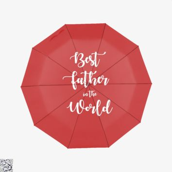 Best Father In The World, Father's Day Umbrella