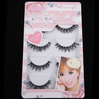 5 Pair/Lot Crisscross False Eyelashes Lashes Eye Lashes