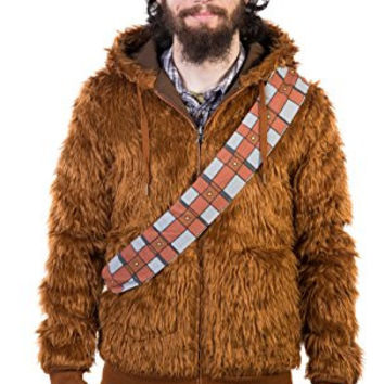 Star Wars Furry Chewbacca Reversible Hoodie