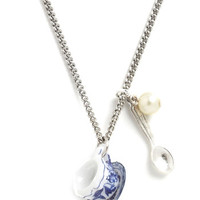 And Mary Fairytale Cup the Ante Necklace