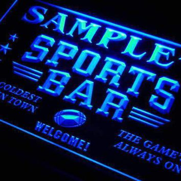 Personalized Sports Bar LED Neon Light Sign