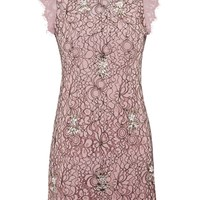 Lace A-Line Mini Shift Dress | Topshop