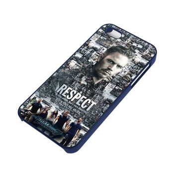 FAST FURIOUS 7 PAUL WALKER iPhone 5 / 5S Case