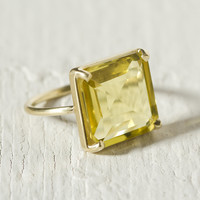 Citrine & Gold Ring