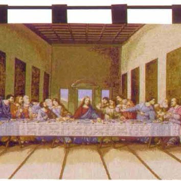 The Last Supper I Tapestry of Fine Art