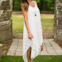 Sweet And Serene Dress, Ivory