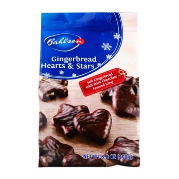 Bahlsen Gingerbread Hearts and Stars, 8.8 oz