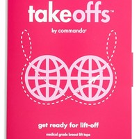 Women's Commando 'TakeOffs' Breast Lift Tape (3-Pack)