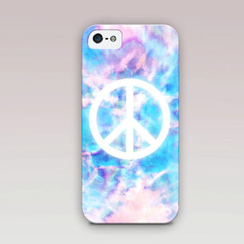 Peace Sign Phone Case For - iPhone 6 Case - iPhone 5 Case - iPhone 4 Case - Samsung S4 Case