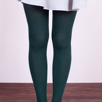Rib Knit Tights (2 Colors!)