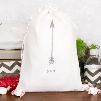 Personalized 10 Arrow Wedding Welcome Bags
