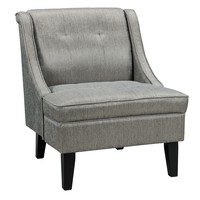 Gilman Accent Chair Pewter Free Shipping!