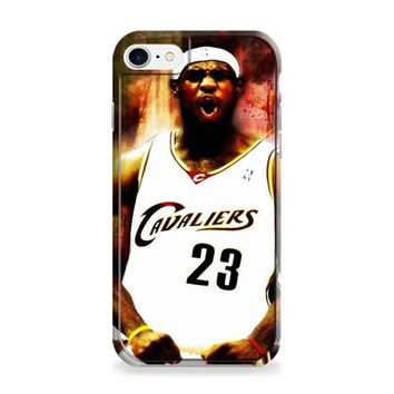 Lebron James Screaming Miami Heat Fan Made iPhone 6 | iPhone 6S Case