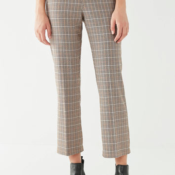 UO Checkered Kick Flare Pant | Urban Outfitters