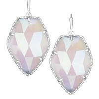 Corley Silver Drop Earrings in Iridescent Slate - Kendra Scott Jewelry