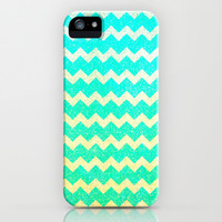 Spring Chevron III - for iphone iPhone & iPod Case by Simone Morana Cyla