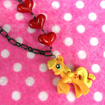 My Little Pony Applejack Friendship is Magic Necklace