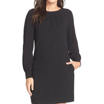 Women's Trina Turk 'Florinda' Crepe Shift Dress,