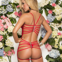 Ruby Red Babydoll and G-String