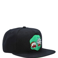 Rick And Morty Portal Snapback Hat