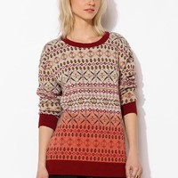 Coincidence & Chance Ombre Fair Isle Sweater - Urban Outfitters