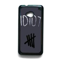 Idiot 5SOS Hater For HTC ONE M7/HTC ONE M8/HTC ONE M9 Phone case ZG