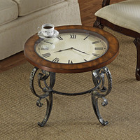 Grand Hall Timepiece Cocktail Table - MH304 - Design Toscano
