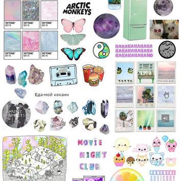 Set #249. Mockup printable Tumblr Stickers, Stickers, Sets. Decals. Printable (downloadable) file ONLY. Nothing will be shipped.