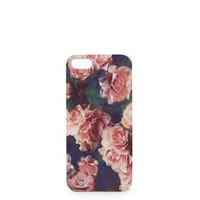 Rose Print iPhone 5 Shell - Bags & Wallets  - Bags & Accessories