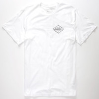 Electric Stampede Mens T-Shirt White  In Sizes