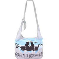 Loungefly Disney The Little Mermaid Go On And Kiss The Girl Hobo Bag