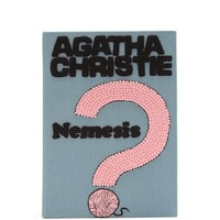 Agatha Christie Nemesis embroidered book clutch | Olympia Le-Tan | MATCHESFASHION.COM US