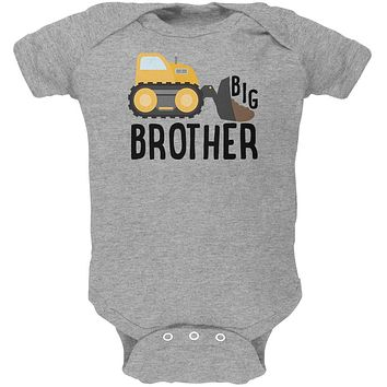 Big Brother Construction Truck Digger Soft Baby One Piece