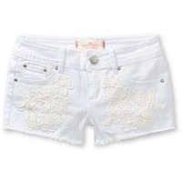 Almost Famous Abby Crochet Shorts