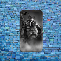Boba Fett iPhone Case Star Wars Phone Case Cool Batman iPhone Cover iPhone 4 iPhone 5 iPhone 4s iPhone 5s iPhone 5c Case